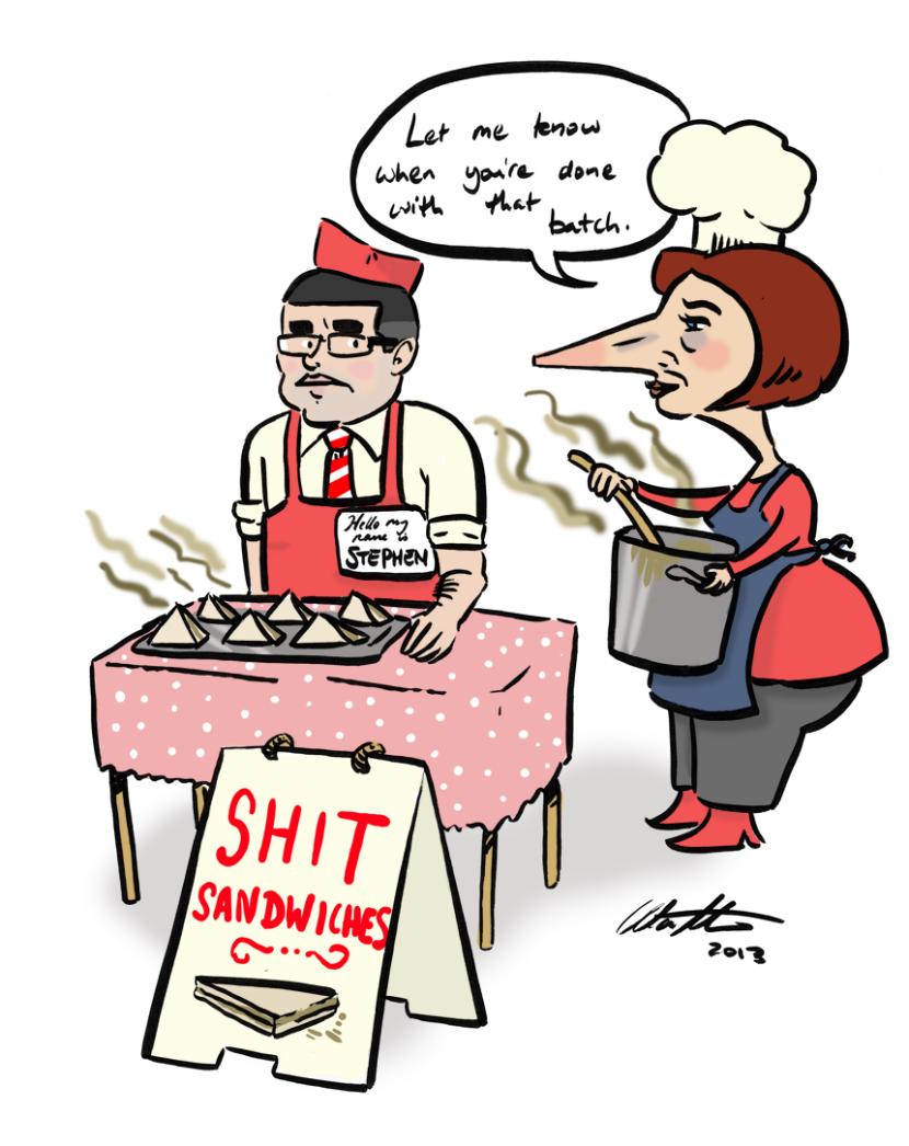 shit sandwiches