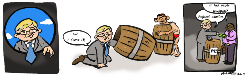 barrel rudd